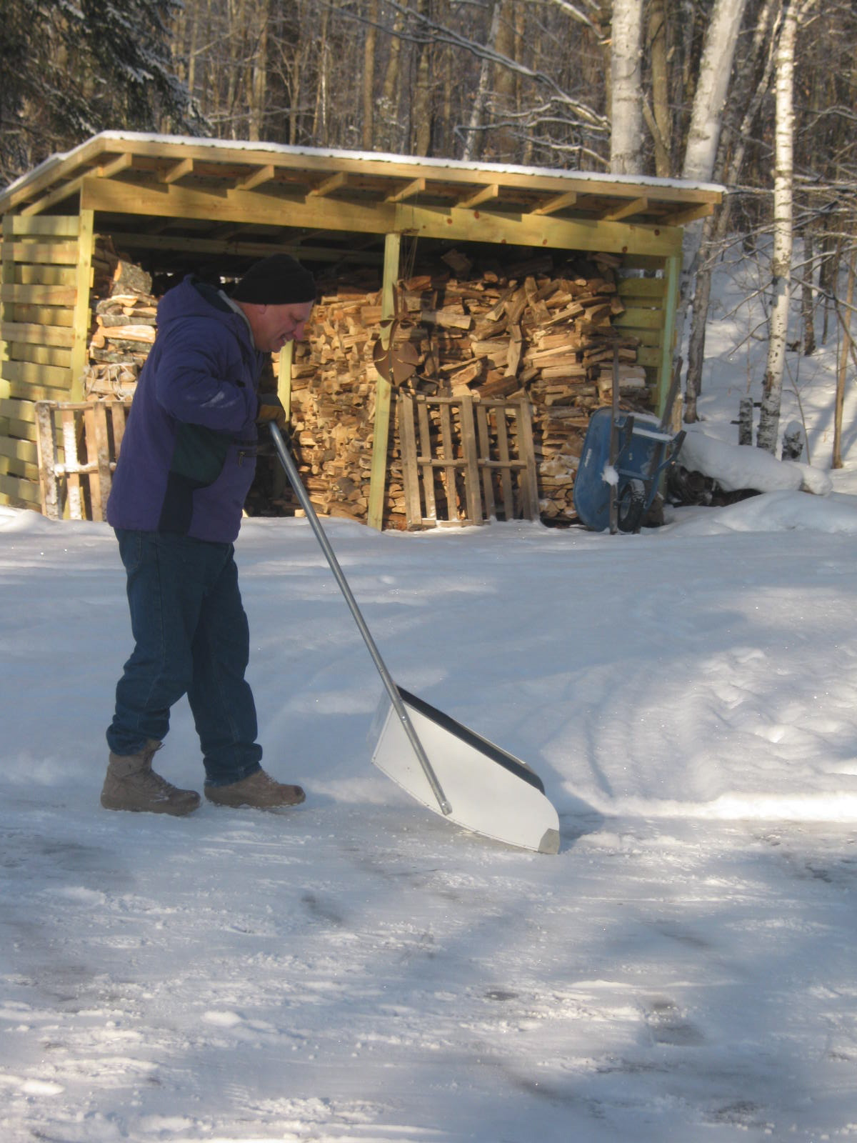 How To Remove Paint From Metal >> Simply Living in the Northwoods: Yoo-hoo, Yahoo! We Have a Yooper Scooper.