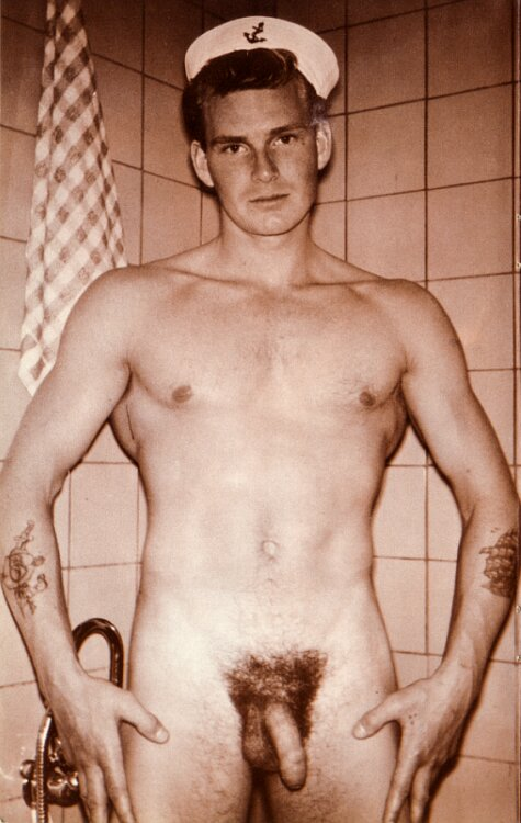 V-M-P Vintage Male Physique Tore Lind - Attributed To -4767