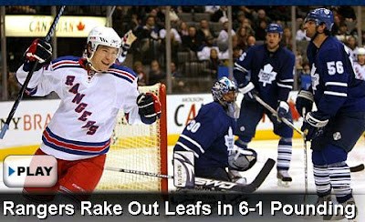 Video highlights: Rangers Rake Leafs