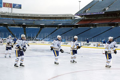 NHL's first outdoor game in US