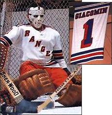 Retired NY Rangers Number 1 - Ed Giacomin