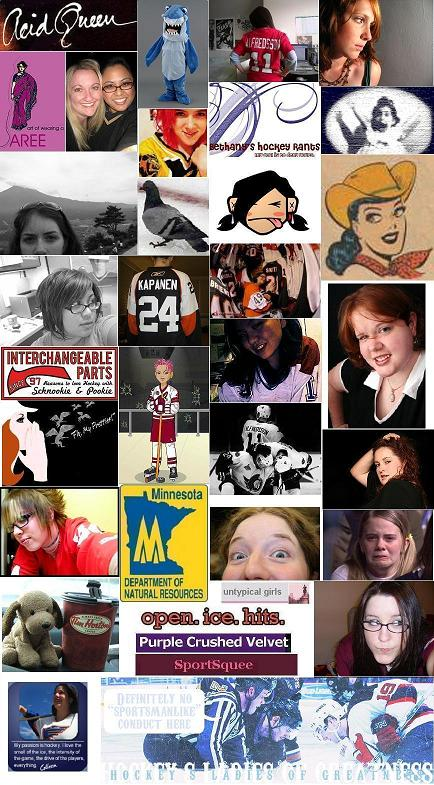Hockey's Ladies of Greatness