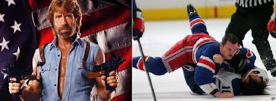 Chuck Norris vs. Sean Avery