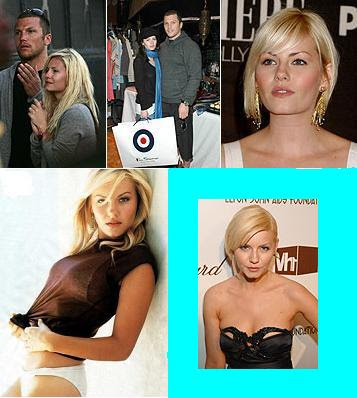 Sean Avery and actress ex-girlfriend Elisha Cuthbert
