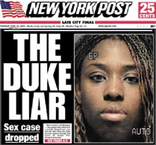 NY Post frontpage April 12, 2007