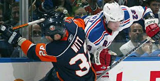 Isles win 2-1, October 10, 2007