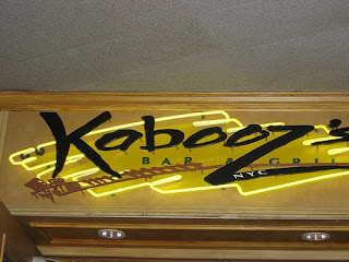 Kabooz's Bar & Grill, 2 Penn Plaza, New York City