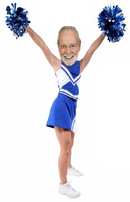 The MSG Cheerleader, Stan Fischler