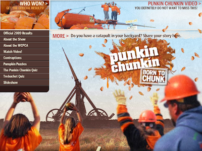 Punkin Chunkin: The Science Channel