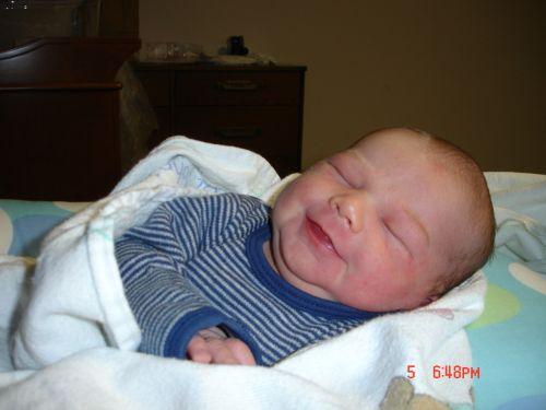 Noah Smiling