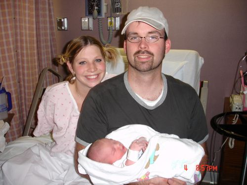 Noah with Mom & Dad