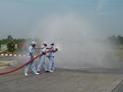 การทดสอบการทำงานของระบบดับเพลิงอัตโนมัติ