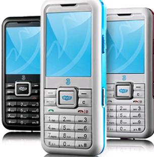 3 Skypephone Blue