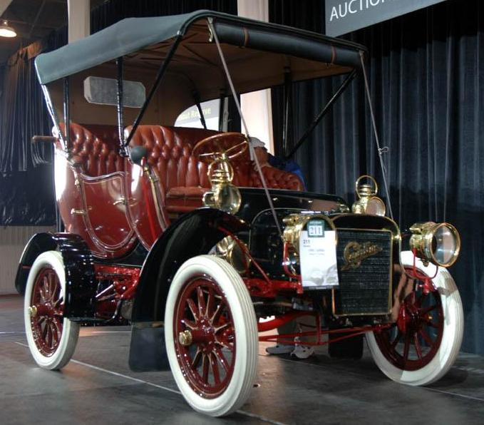 Two New Cars From Cadillac At Year 1906