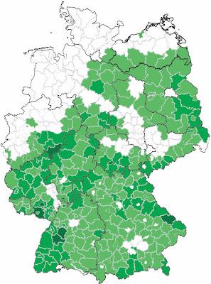 Landkartenblog Wandkarte Deutschland In Nordwestdeutschland