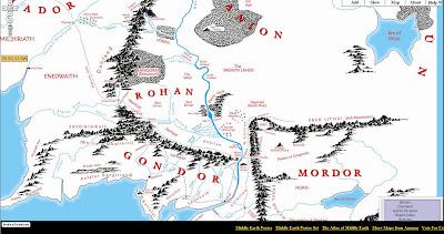 Mittelerde Karte Herr Der Ringe.Landkartenblog Karte Von Mittelerde Aus Herr Der Ringe Online