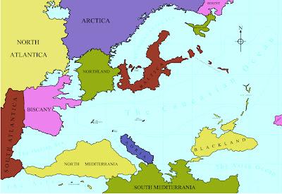 Landkartenblog Europakarte Von Europa Aus Einem Parallelem Universum