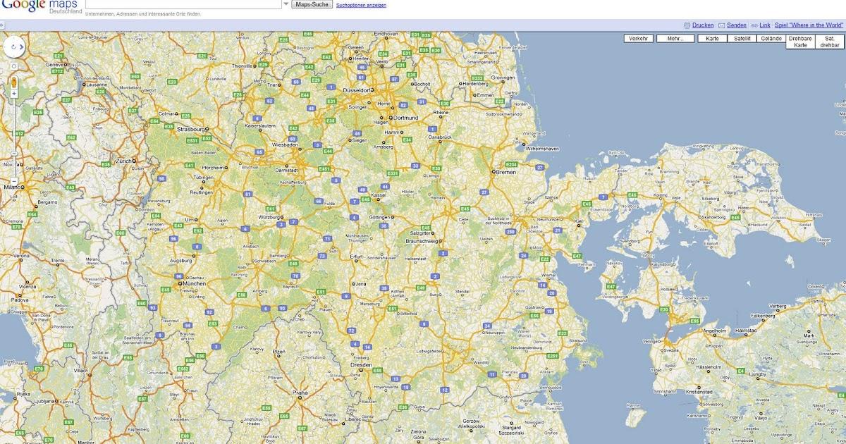 Landkartenblog Bei Google Maps kann man jetzt die Karte oder Luftbild drehen