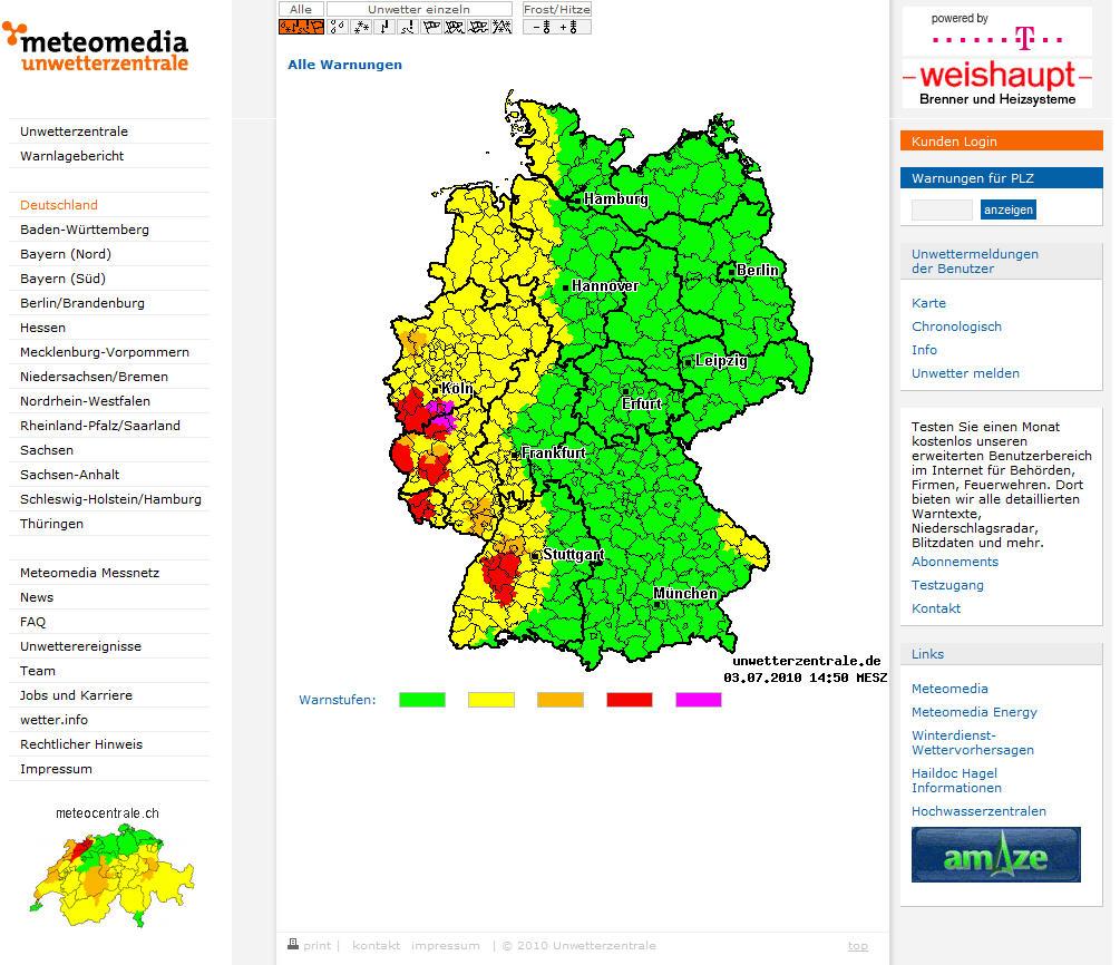 Deutsche Unwetterzentrale Rlp
