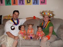 Jeff & Melissa & girls