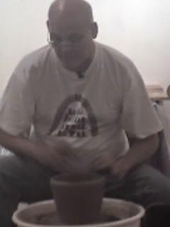 Jon Pettyjohn showing how to use the wheel