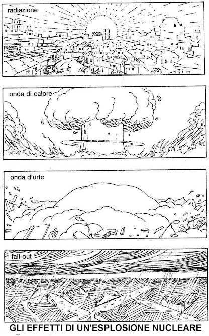 """Ecco gli effetti su una città di una """"piccola"""" bomba nucleare, da 1 megatone"""