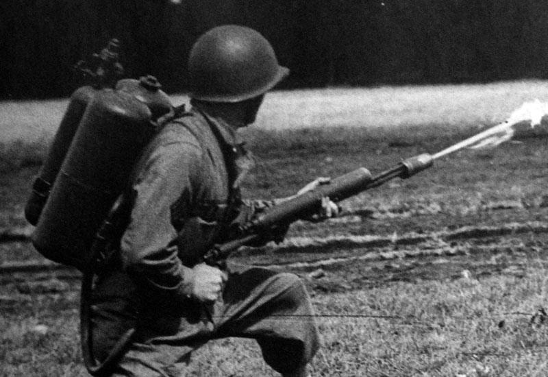 flamethrowers in world war 1 - photo #8