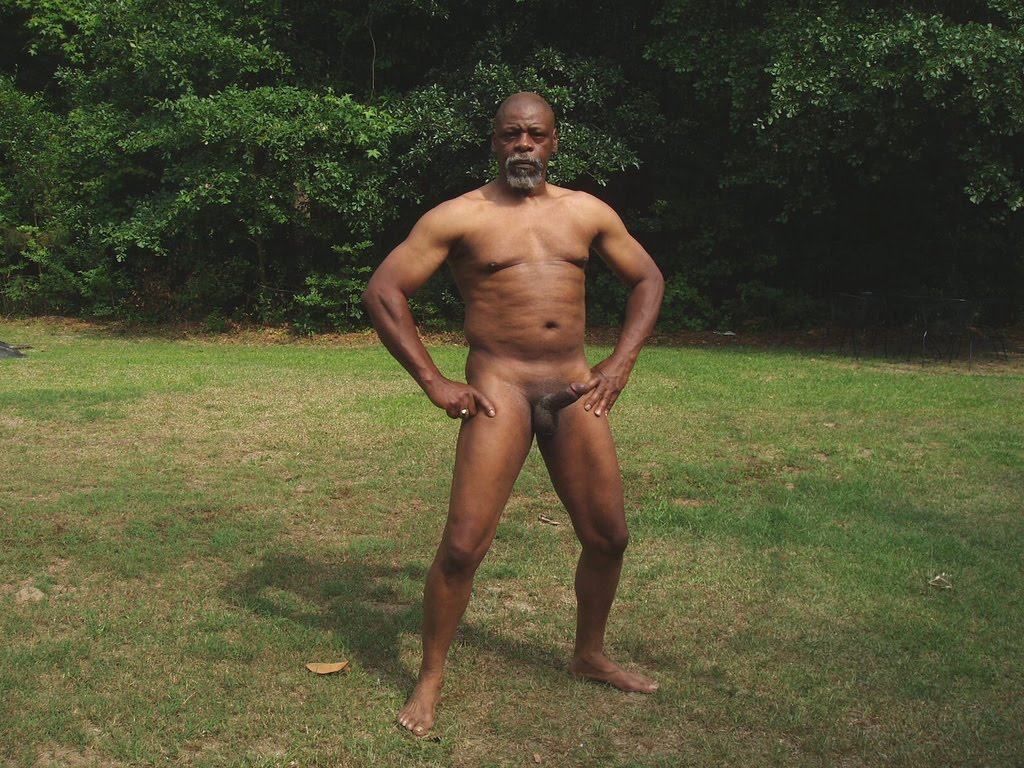 Black Old Man Dick