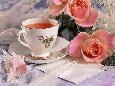 Chá dos lábios de virgens