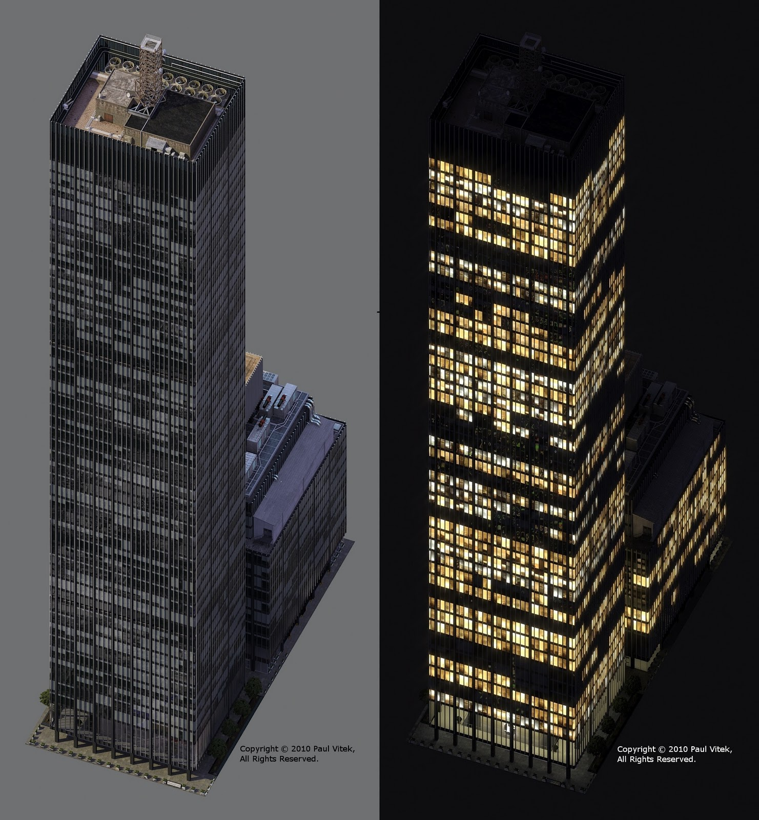 Manhattan Models: 270 Park Avenue