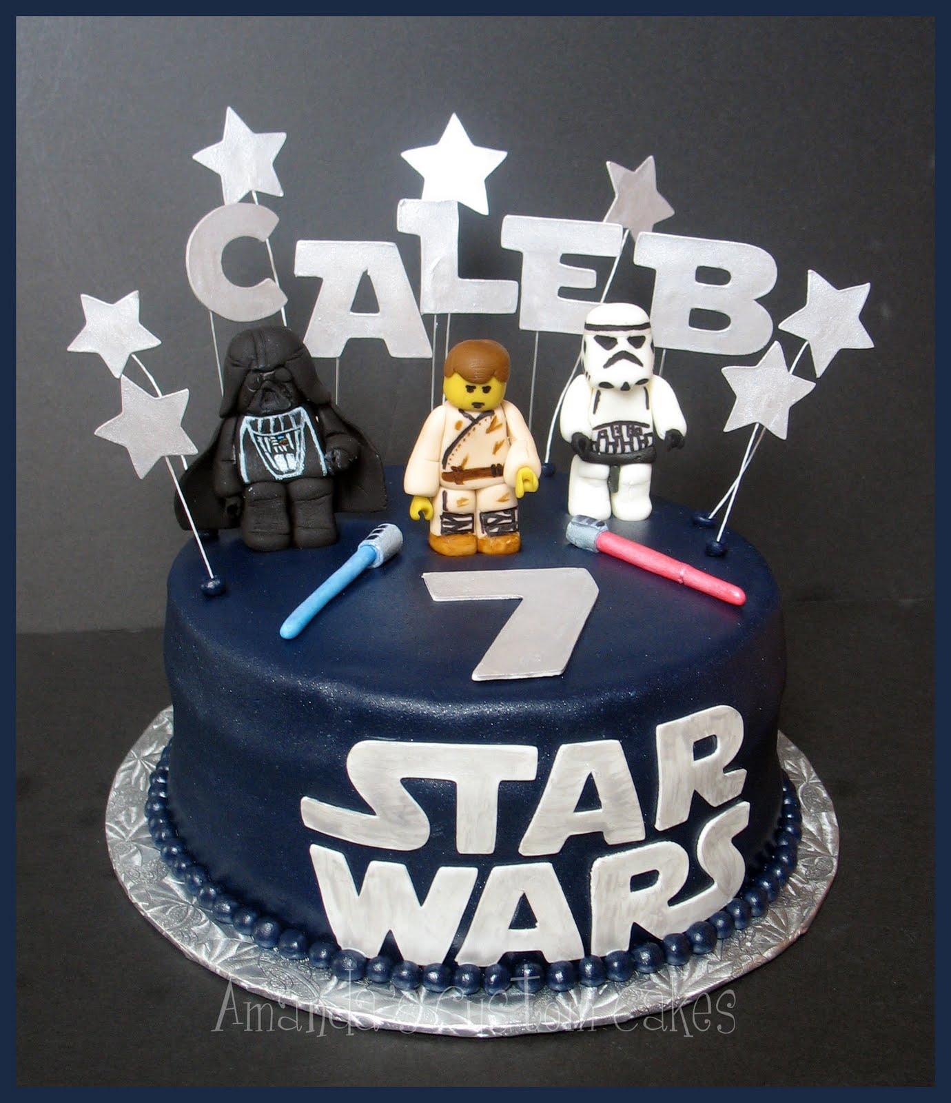 Amanda S Custom Cakes Lego Star Wars