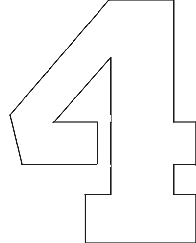 Légend image for printable large numbers