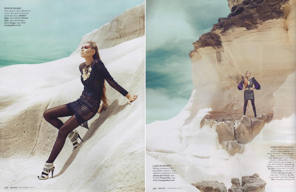 Gwendoline Ruais for Metro Magazine (December 2010 ...