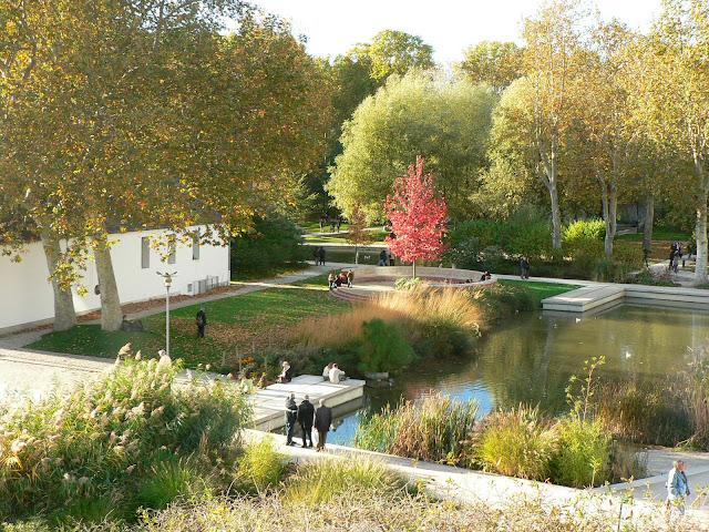 lac du parc de bercy