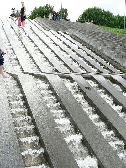 fontaine du lac de bercy