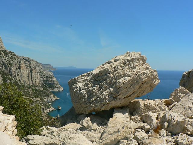 vue sur les calanques de Marseille