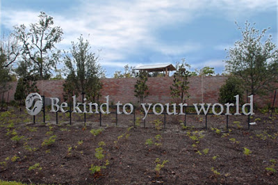 shangri la botanical gardens and nature center, be kind to the world