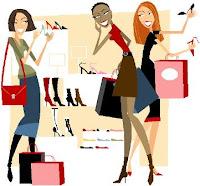 shoe shopping girls galore