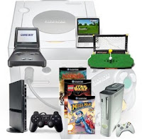 different video game consoles