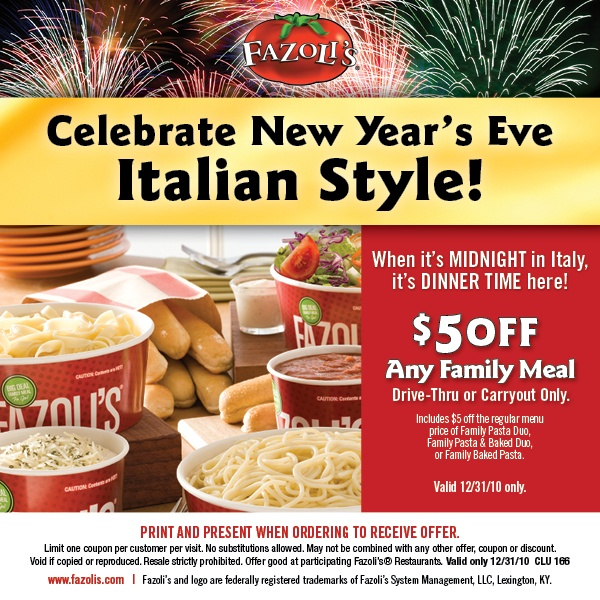 graphic about Fazoli's Printable Menu referred to as Fazolis discount coupons : Ninja cafe nyc coupon codes
