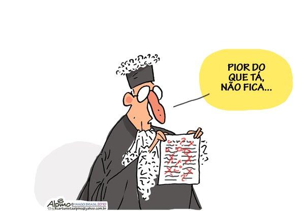 Resultado de imagem para ministros do supremo charges