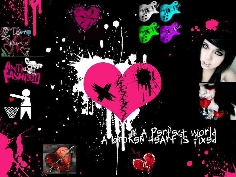 Emo Love Couples Hd Wallpapers And Pictures