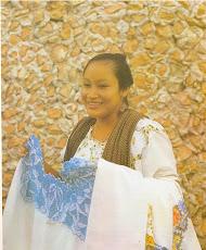 Mujer maya de Maxcanú, Yucatán