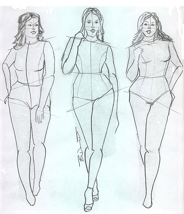 The purpose Plus size fashion croquis templates final, sorry