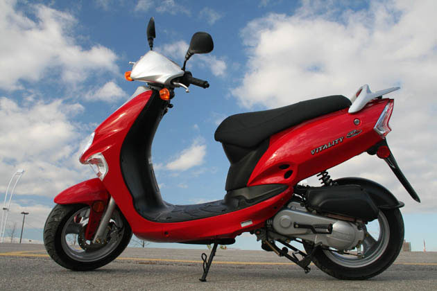 the best of motorcycle 2010 kymco vitality 50. Black Bedroom Furniture Sets. Home Design Ideas