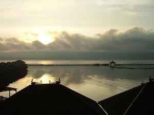 Lago Inle,atardecer desde la habitacion