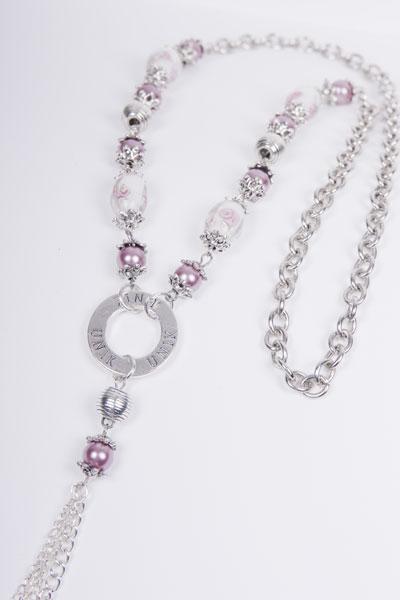 Camillas pärlor  Halsband med pärlor och kedja och Montasamitofs... )) 88144048978f7