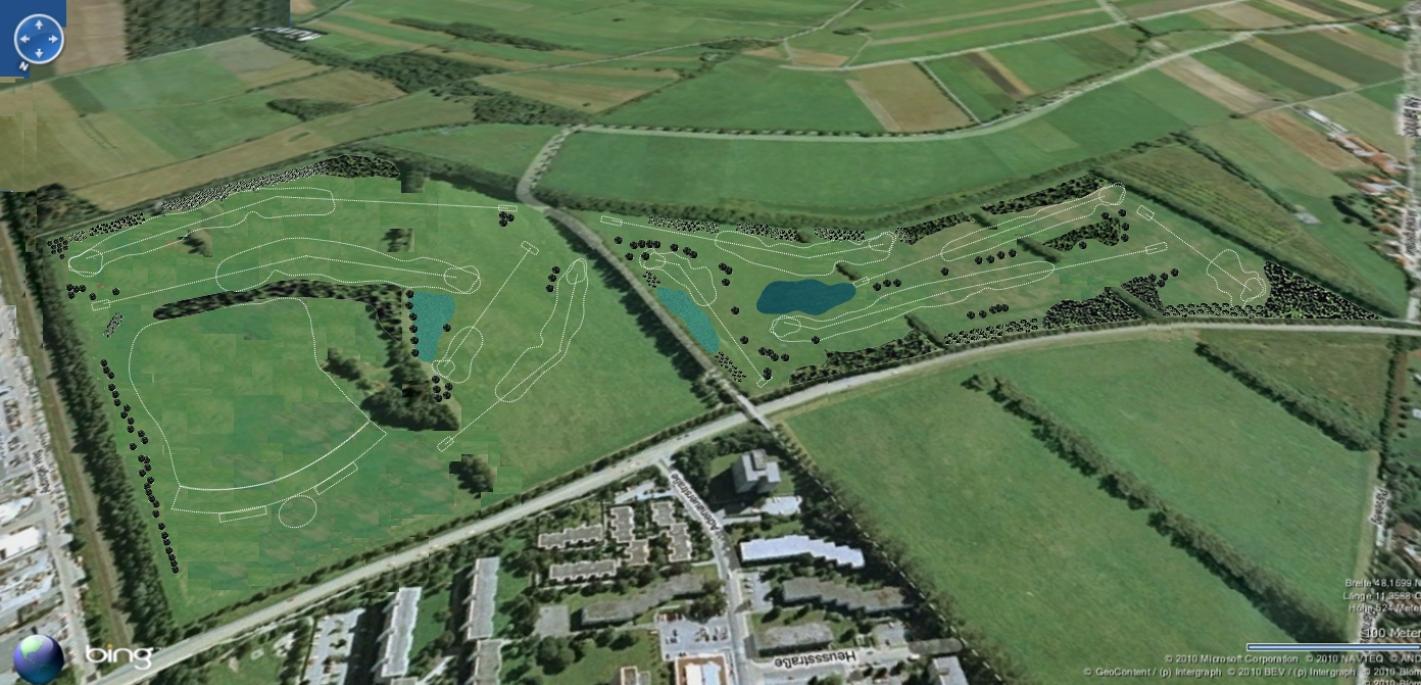 golfplatz puchheim wird gebaut. Black Bedroom Furniture Sets. Home Design Ideas