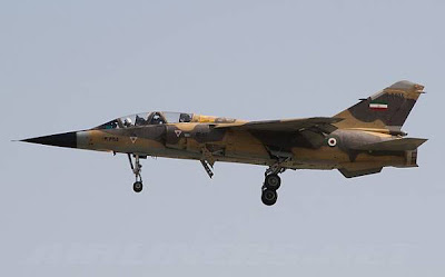 Uskowi on Iran - اسکویی در باره ایران: IRIAF Mirage F1 in action