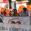 MARCHA POR LA  LUCHA CONTRA EL SIDA 2007 MEXICO